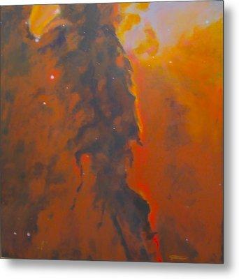 Epsilon Eridani A Stellar Spire In Eagle Nebula Metal Print by Jim Ellis