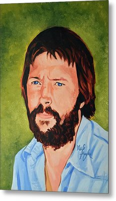 Eric Clapton Metal Print by Neil Feigeles