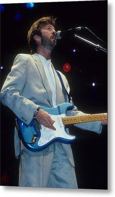 Eric Clapton Metal Print by Rich Fuscia