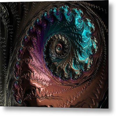 Escape Abstract Metal Print by Marianna Mills