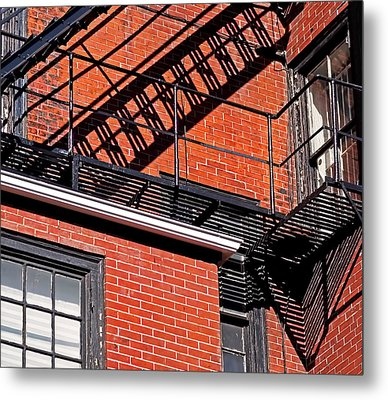Metal Print featuring the photograph Escape Angles by Rona Black