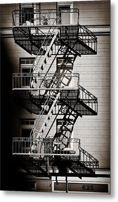 Escape Metal Print by Dave Bowman