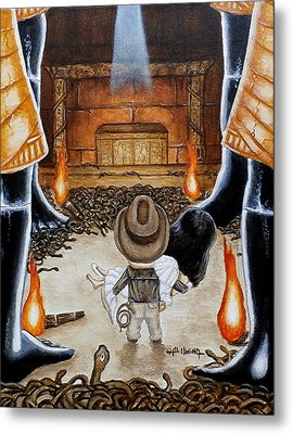 Escape From The Well Of Souls Metal Print by Al  Molina