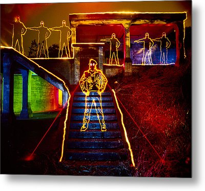 Escape Ft Chronkite Metal Print by Garry Gay