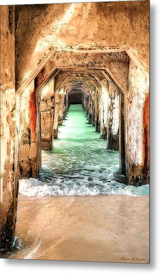 Escape To Atlantis Metal Print