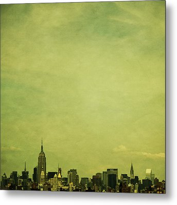 Escaping Urbania Metal Print