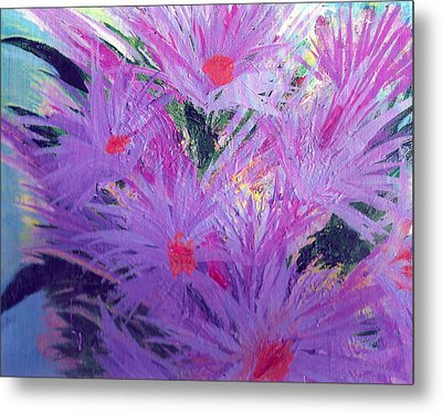 Especially For You Lavender Lovers Metal Print by Anne-Elizabeth Whiteway