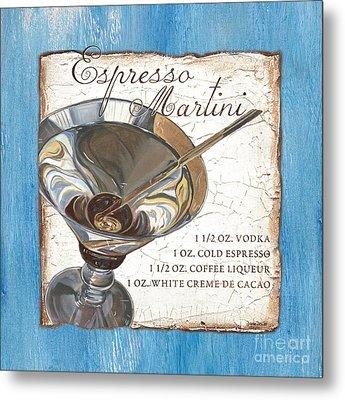 Espresso Martini Metal Print by Debbie DeWitt