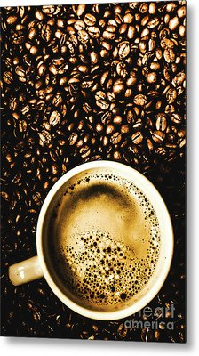 Espresso Roast Metal Print by Jorgo Photography - Wall Art Gallery