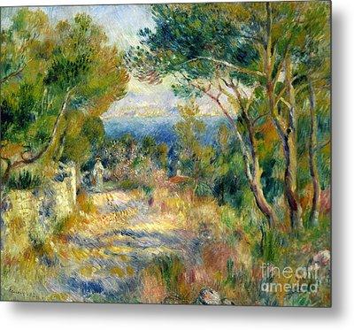 Estaque Metal Print by Renoir
