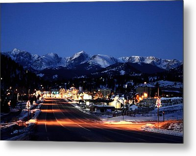 Estes At Dawn Metal Print by Perspective Imagery