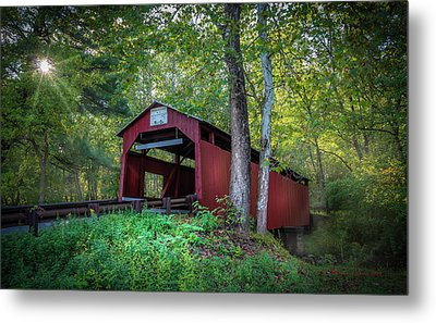 Metal Print featuring the photograph Esther Furnace Bridge by Marvin Spates