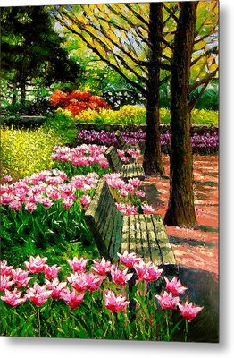 Eternal Spring Metal Print by John Lautermilch