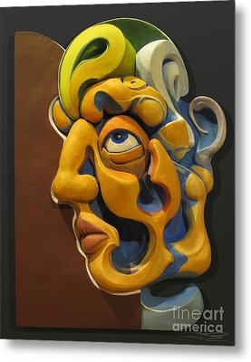 Eternal Thoughts Of A Mortal Mind Metal Print by James Day