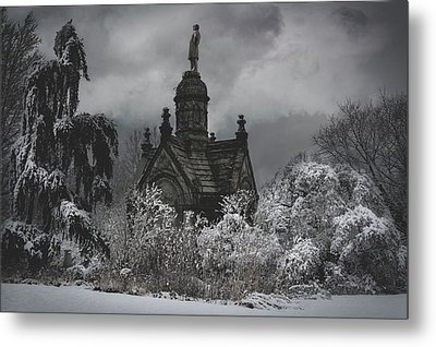 Metal Print featuring the digital art Eternal Winter by Chris Lord