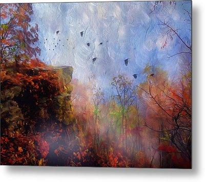 Ethereal Autumn Metal Print