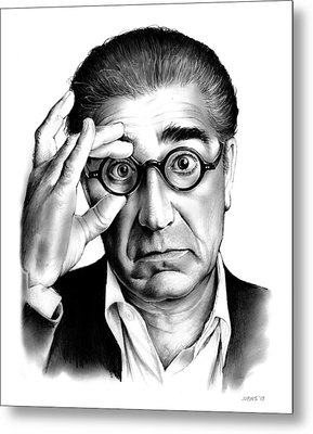 Eugene Levy Metal Print by Greg Joens
