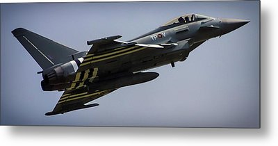 Eurofighter Metal Print by Martin Newman