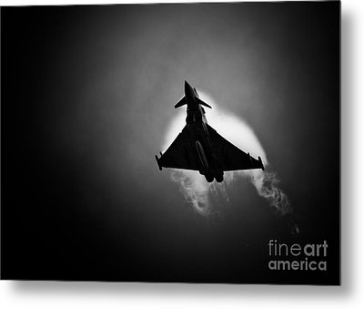 Eurofighter Typhoon Metal Print by Rastislav Margus