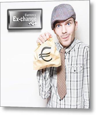 European Sovereign Debt Crisis Or Eurozone Crisis Metal Print by Jorgo Photography - Wall Art Gallery