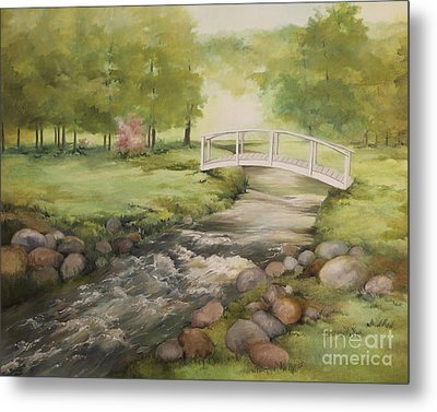 Evelyn's Creek Metal Print by Becky West