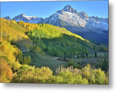 Metal Print featuring the photograph Evening Along County Road 7 by Ray Mathis