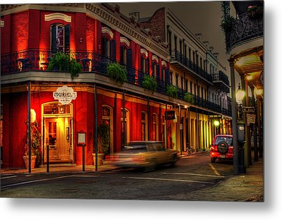 Evening At Muriels Metal Print by Greg and Chrystal Mimbs