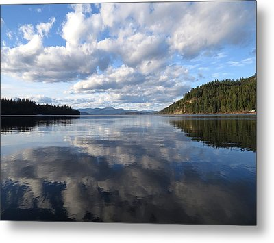 Evening At Priest Lake 2 Metal Print by Feva  Fotos