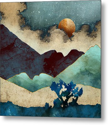 Evening Calm Metal Print by Spacefrog Designs