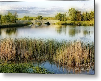 Evening Calm Metal Print by Teresa Zieba