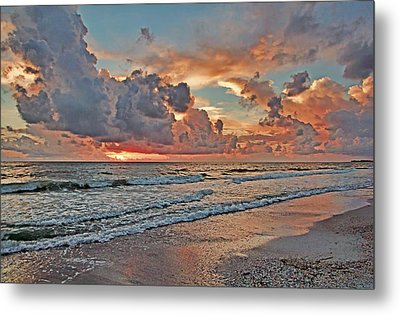 Evening Clouds Metal Print by HH Photography of Florida