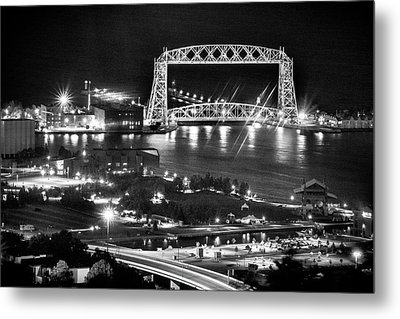 Metal Print featuring the photograph Evening In Duluth by Bill Pevlor