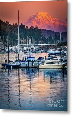 Evening In Gig Harbor Metal Print