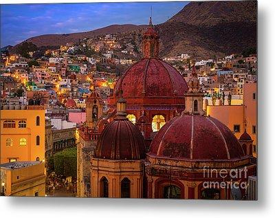 Evening In Guanajuato Metal Print by Inge Johnsson