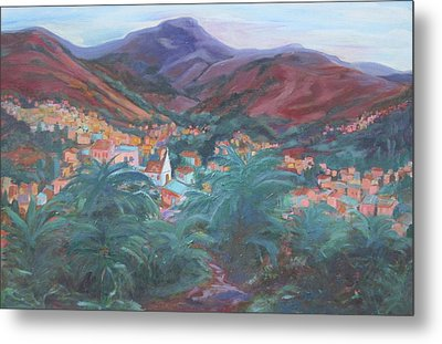 Evening In Guanajuato Metal Print