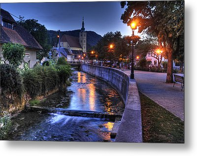 Evening In Samobor Metal Print by Don Wolf