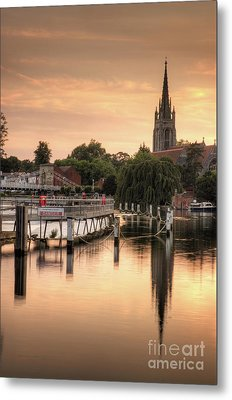 Evening Over Marlow Metal Print