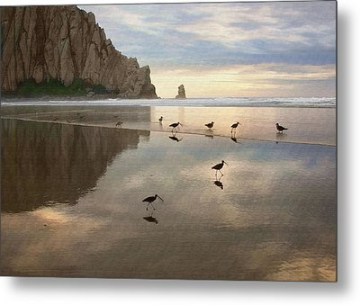 Evening Reflection Metal Print by Sharon Foster