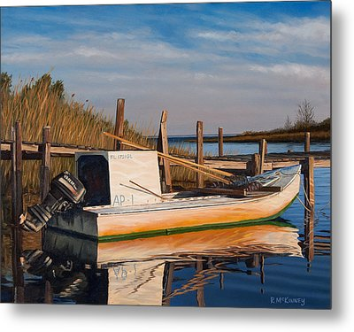 Evening Rest Metal Print