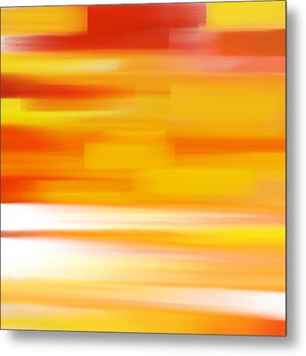 Evening Sea Metal Print by Frank Tschakert
