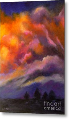 Evening Symphony Metal Print by Alison Caltrider