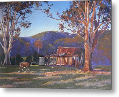 Evening Tapestry Dyers Crossing Metal Print by Louise Green