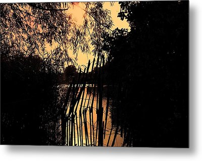 Evening Time Metal Print by Keith Elliott