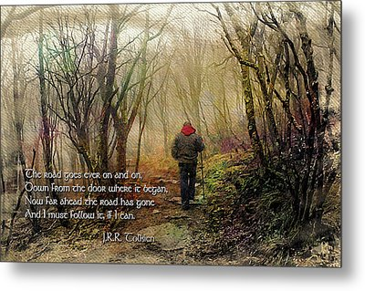 Metal Print featuring the photograph Ever On And On... by Jessica Brawley