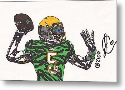 Everett Golson 1 Metal Print by Jeremiah Colley