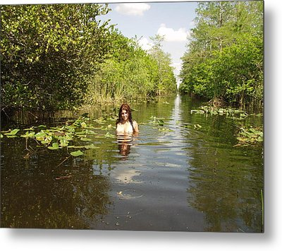 Metal Print featuring the photograph Everglades Beauty One by Lucky Cole
