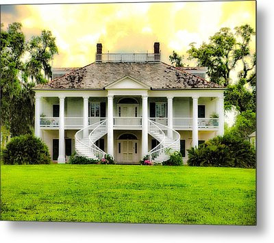 Evergreen Plantation Metal Print