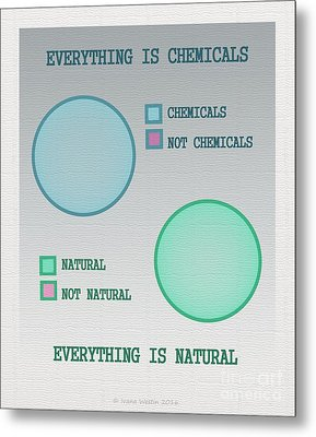 Everything Is Metal Print by Ivana Westin