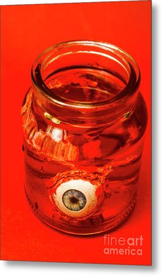 Everything You Know Is A Leye Metal Print