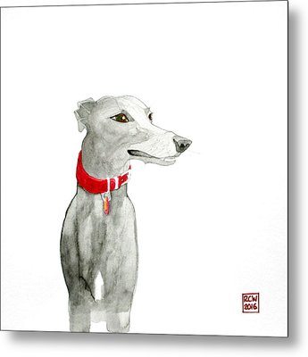 Evie Metal Print by Richard Williamson